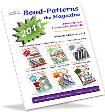 2011 Issues of Bead-Patterns the Magazine (CD)