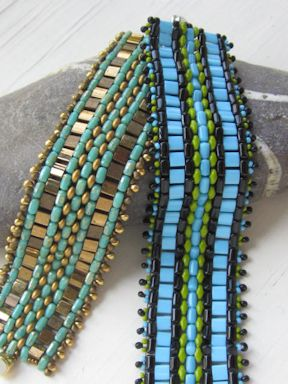 Super duos, rullas, tilas and drops all rolled into one Bracelet
