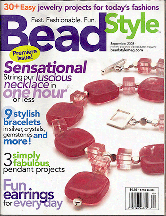 2003 September, Bead Style Magazine, Volume 1 Issue 1