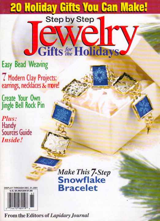 2001 Step by Step Jewelry Gifts for the Holidays Magazine (Used)