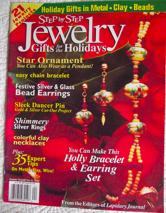 2002 Step by Step Jewelry Gifts for the Holidays Magazine (Used)