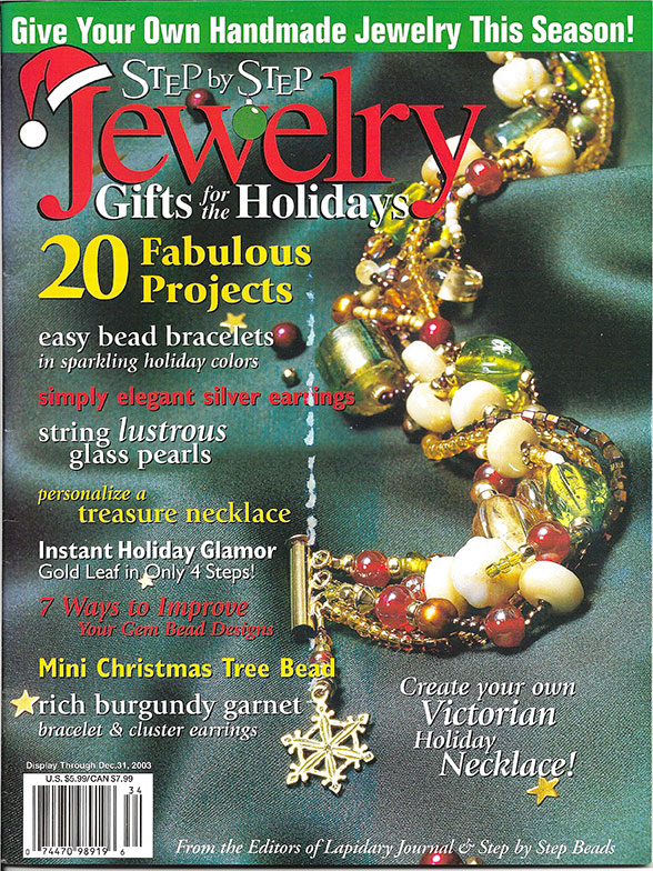 2003 Step by Step Jewelry Gifts for the Holidays Magazine (Used)