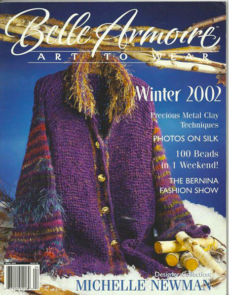 2002 Winter, Belle Armoire, Art to Wear