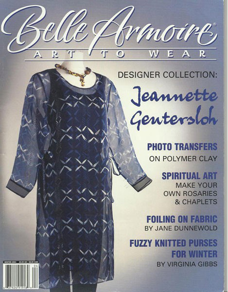 2003 Winter, Belle Armoire, Art to Wear