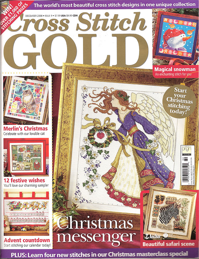 2008 December Issue 9 Cross Stitch Gold Magazine