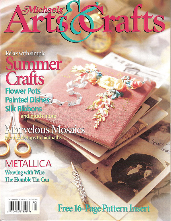 1997 May/Jun,  Michaels Arts & Crafts Magazine