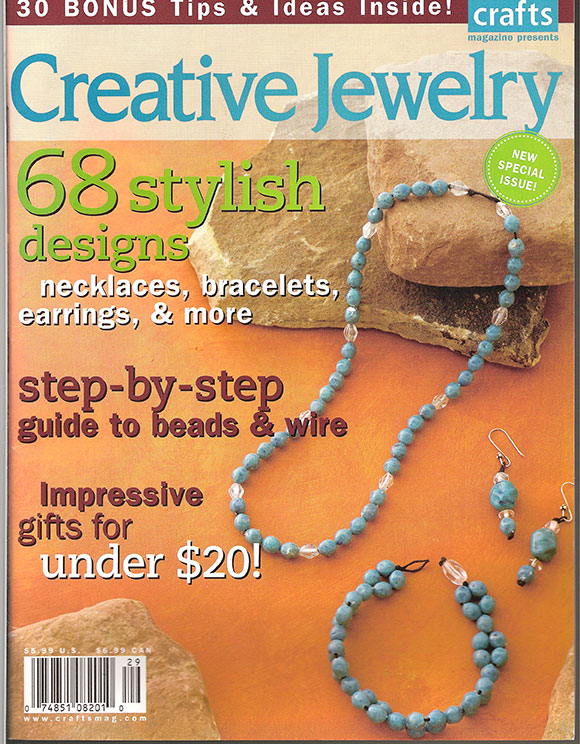 Crafts-Creative Jewelry Magazine (Used)