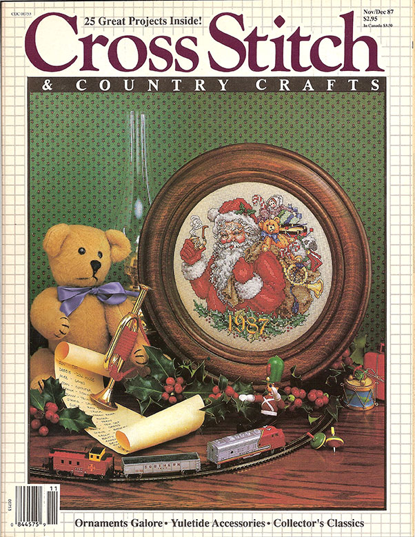 1987 Nov/Dec Cross Stitch & Country Crafts