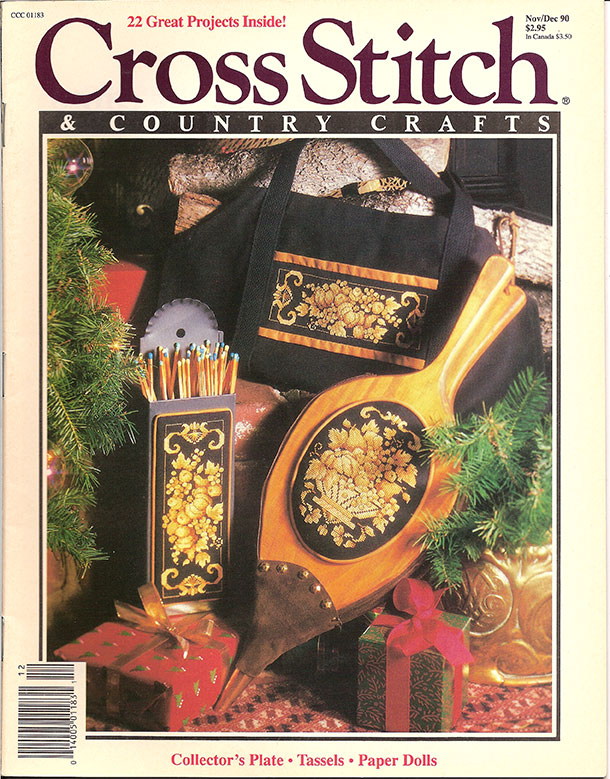 1990 Nov/Dec Cross Stitch & Country Crafts