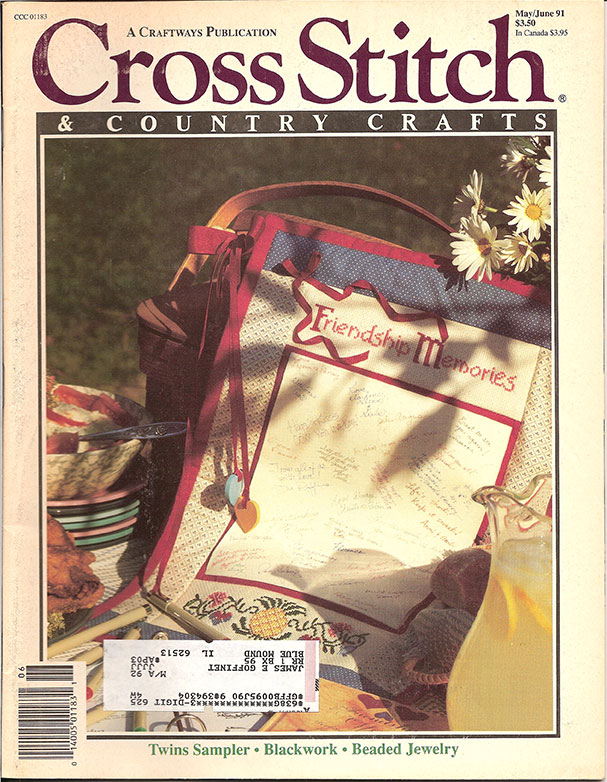 1991 May/Jun Cross Stitch & Country Crafts