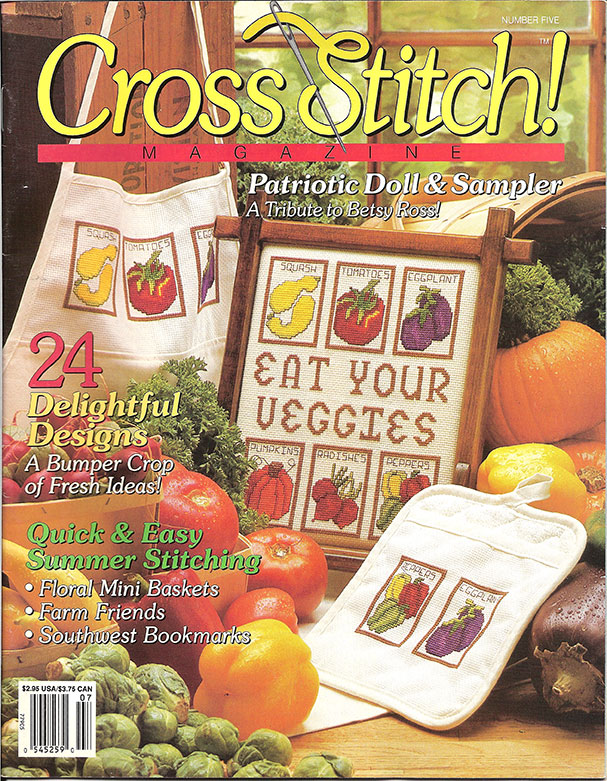 1991 July Cross Stitch Magazine