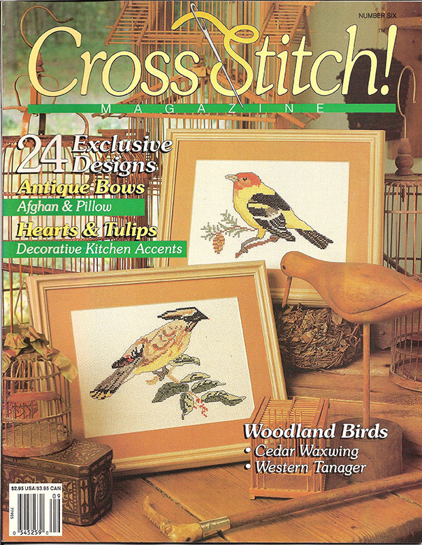 1991 September Cross Stitch Magazine
