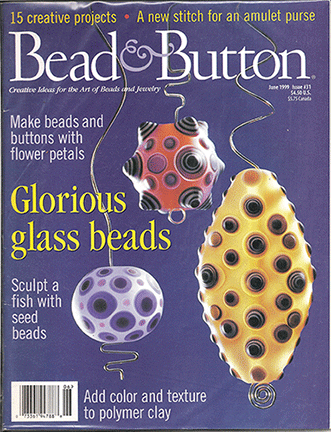 031 Bead & Button Magazine, 1999 June, #31 (NEW)