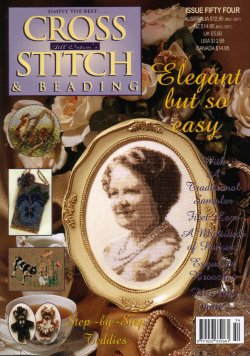 Jill Oxton's Cross Stitch & Bead Weaving Magazine, Issue 54