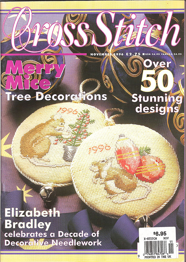 Cross Stitch Mag, 1996 Nov