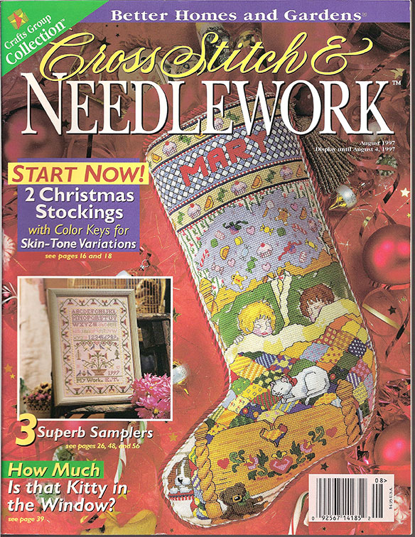 Cross Stitch & Needlework Mag, 1997 Aug
