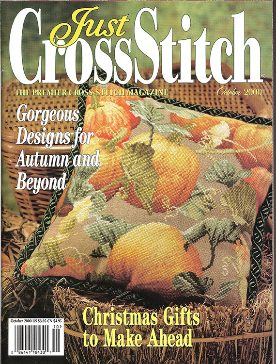 Just Cross Stitch Mag, 2000 Oct