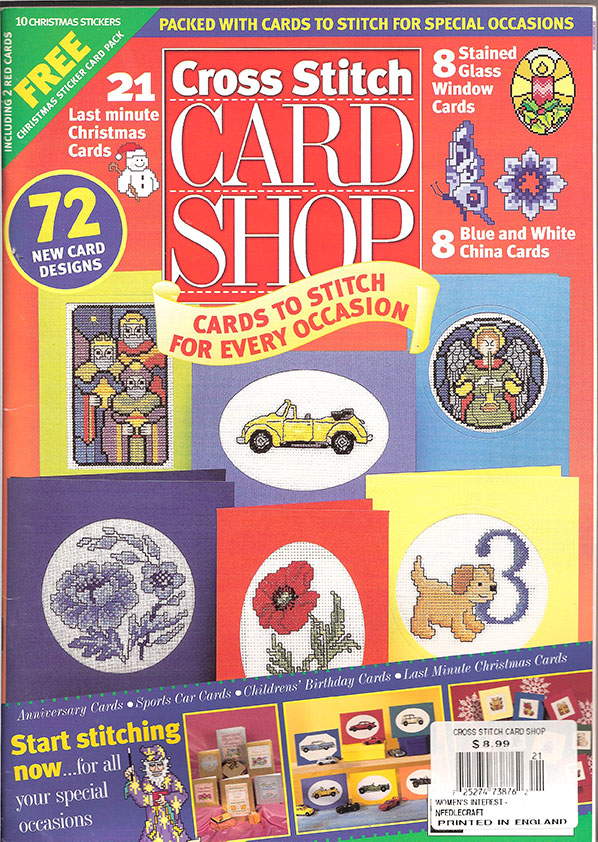Cross Stitch Card Shop Mag, # 21