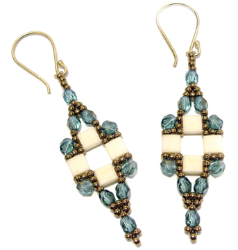 Tila Squared Earrings