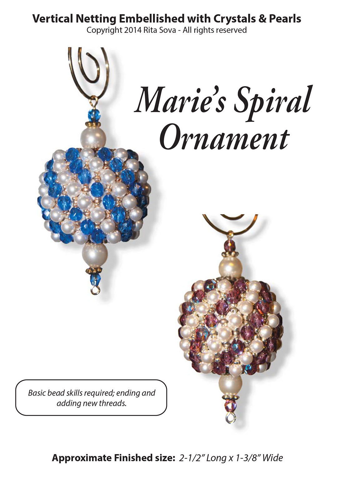 Marie's Spiral Ornament