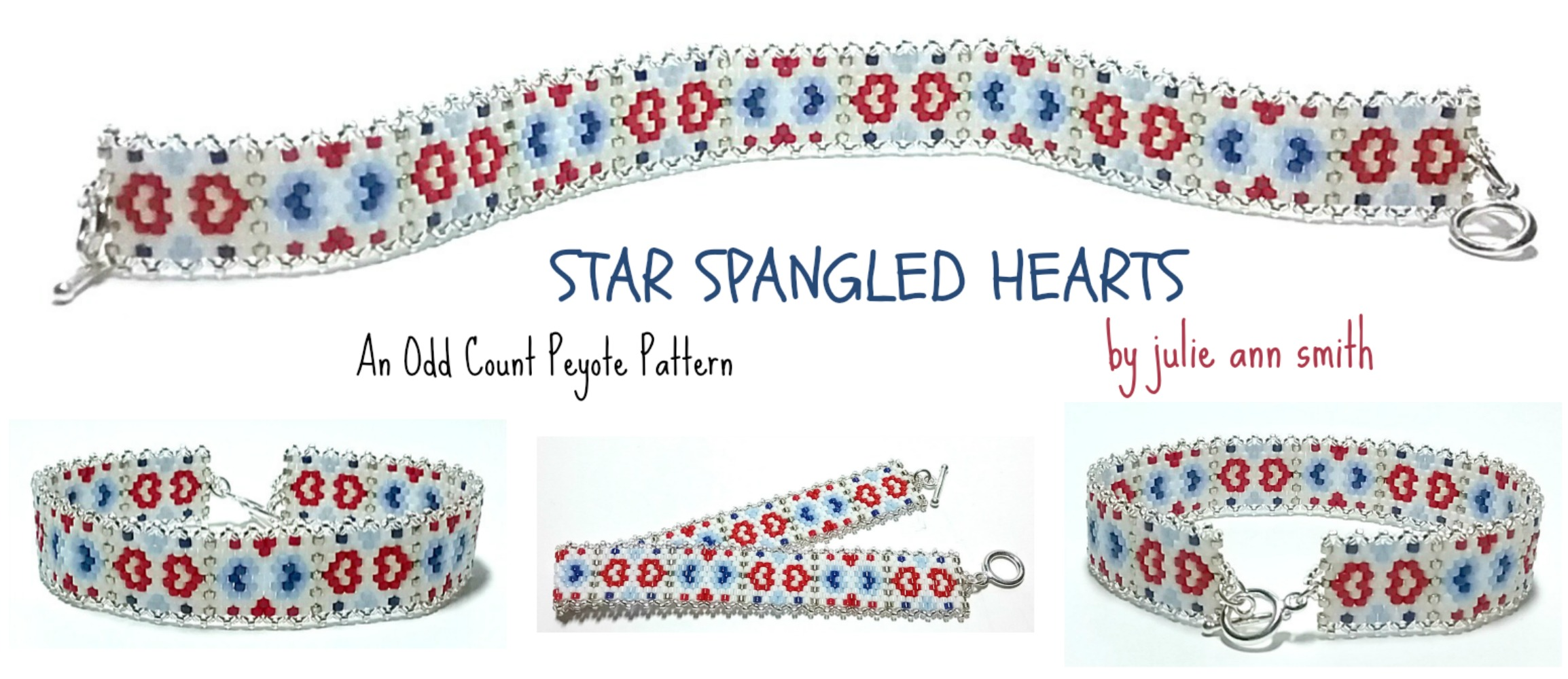 SKINNY MINI SERIES - Star Spangled Hearts