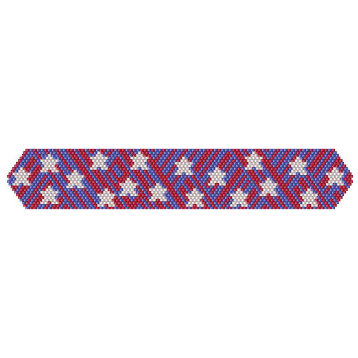 Happy 4th of July Bracelet