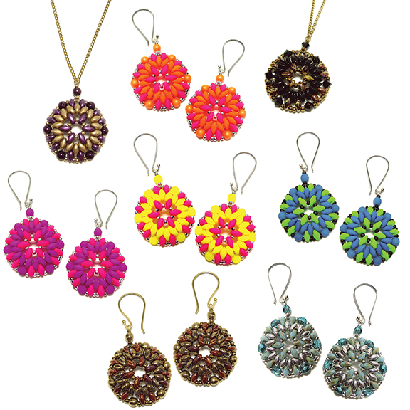 Bodacious Earrings and Pendant