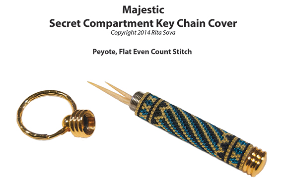 Majestic, Secret Compartment Key Chain Cover