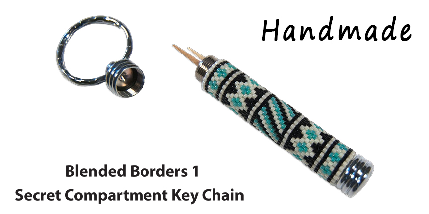 Blended Borders 1, Secret Compartment Key Chain