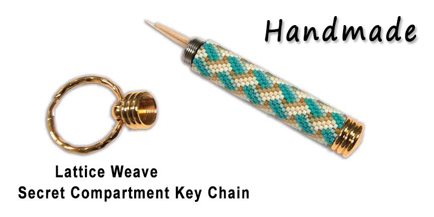Lattice Weave, Secret Compartment Key Chain