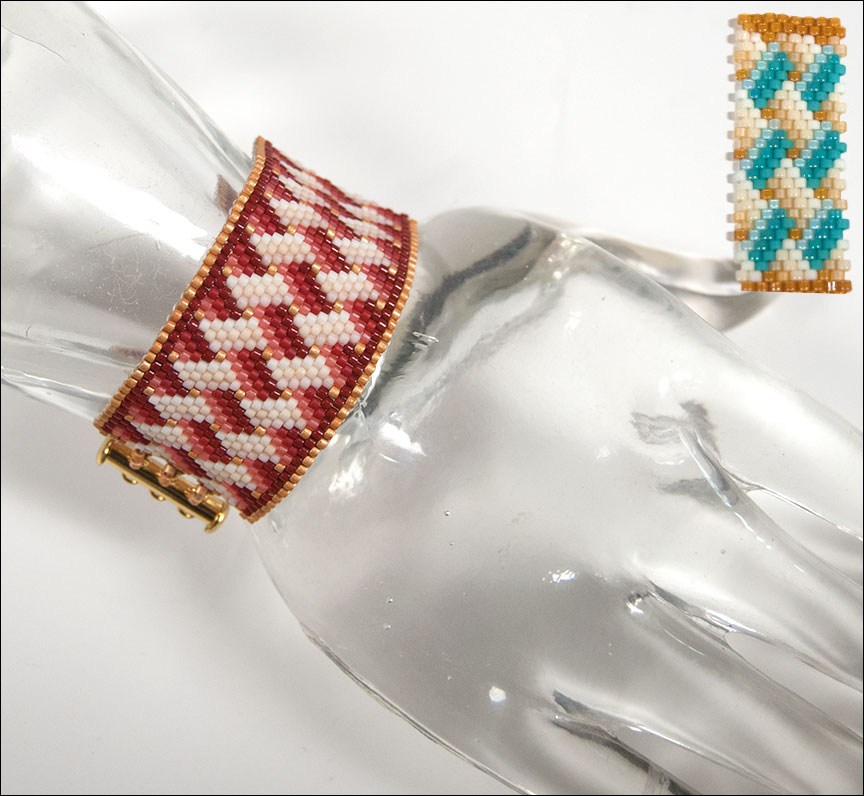 Lattice Weave Bracelets