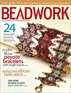 2013 Feb-Mar - BEADWORK magazine (Used)