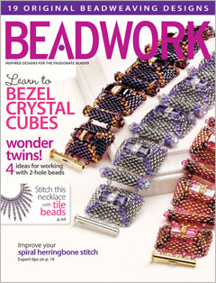 2013 Apr-May - BEADWORK magazine (Used)