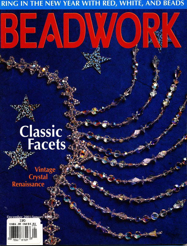 2001 Dec - Jan 2002 - BEADWORK magazine Volume 4 Number 4 (Used)