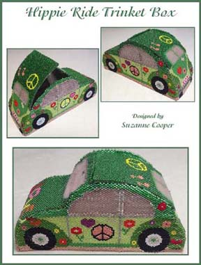 Hippie Ride Trinket Box