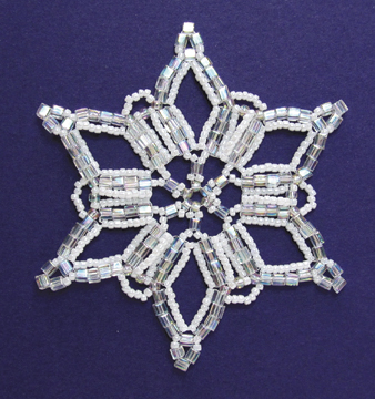 Snowflake #95 Ornament
