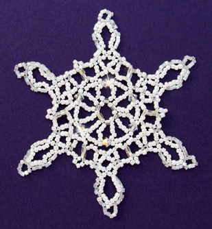 Snowflake #96 Ornament