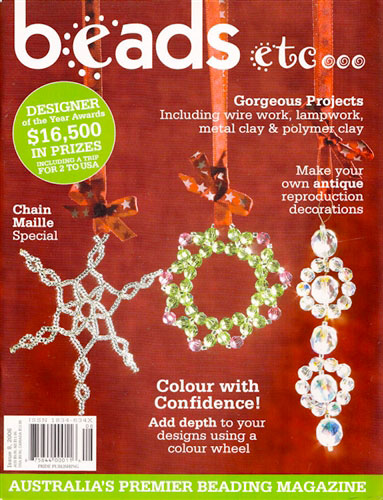 Beads Etc Magazine, Issue 8, 2006 (Used)