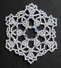 Snowflake #98 Ornament