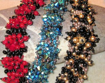Yummy holiday or anytime bracelet cuffs