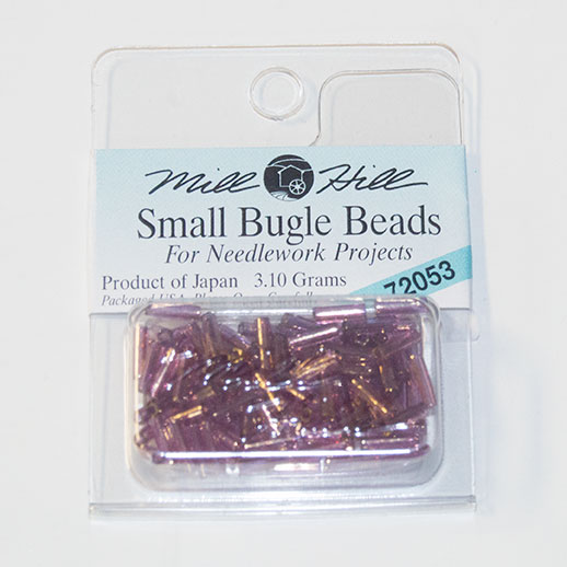 Bugle Beads, 6mm, Nutmeg (3.10 Grams)
