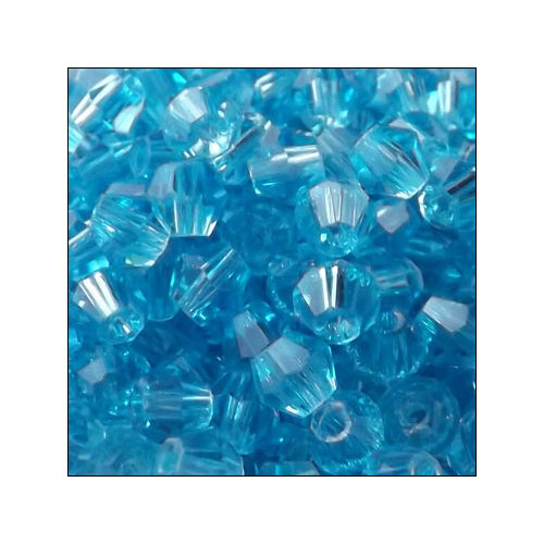 Crystal Bicone, 4mm Capri Blue (100)