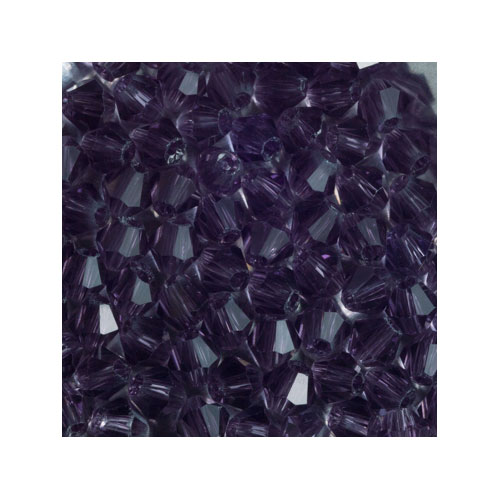 Crystal Bicone, 4mm Violet (100)