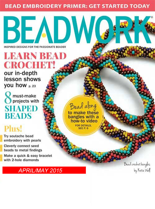 2015 Apr-May - BEADWORK magazine (Used)