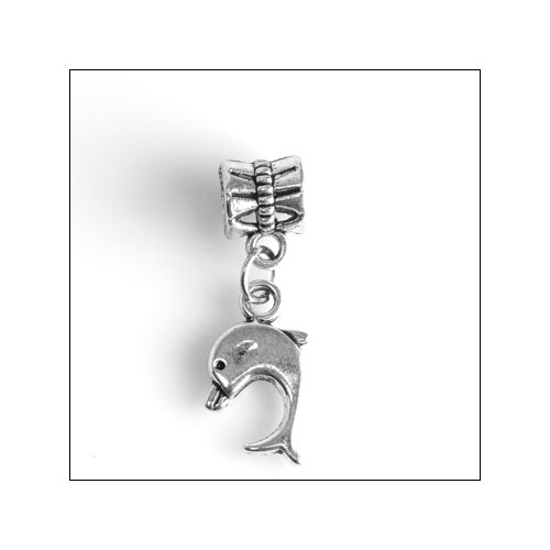 Dolphin/Porpoise Silver Charm