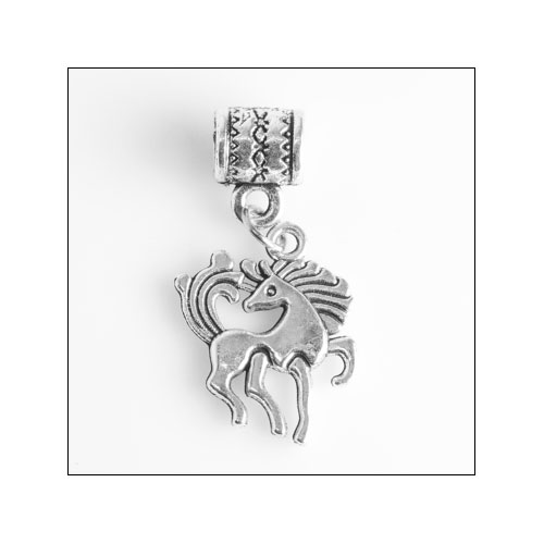 Prancing Horse Silver Charm