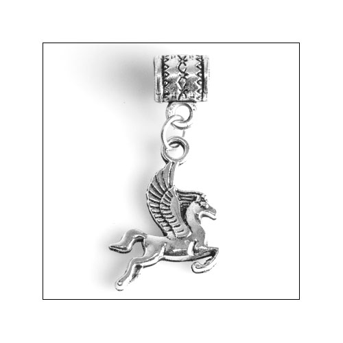 Winged Horse (Pegasus) Silver Charm