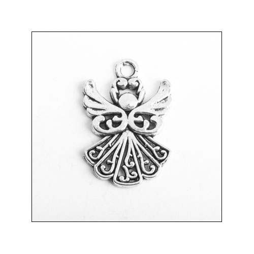 Angel Silver Charm (no bail)