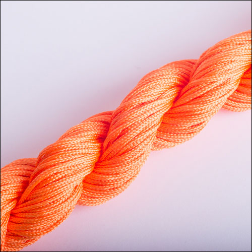 #0 Bugtail, 1mm Nylon cord, 29 yards (27m), Orange