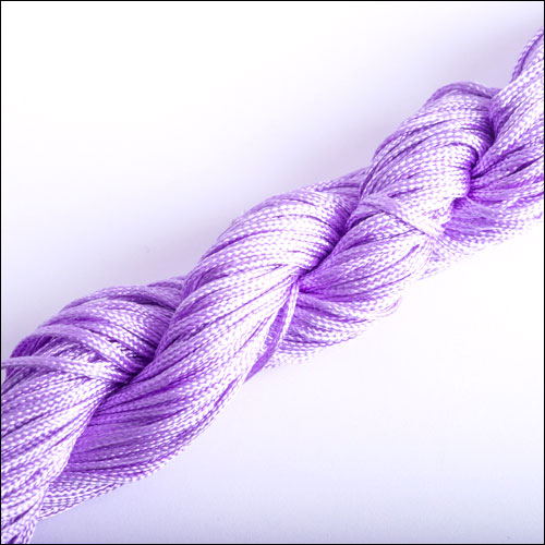 #0 Bugtail, 1mm Nylon cord, 29 yards (27m), Light Purple